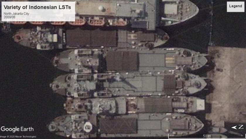 Indonesian Navy LSTs variety Jakarta 2009