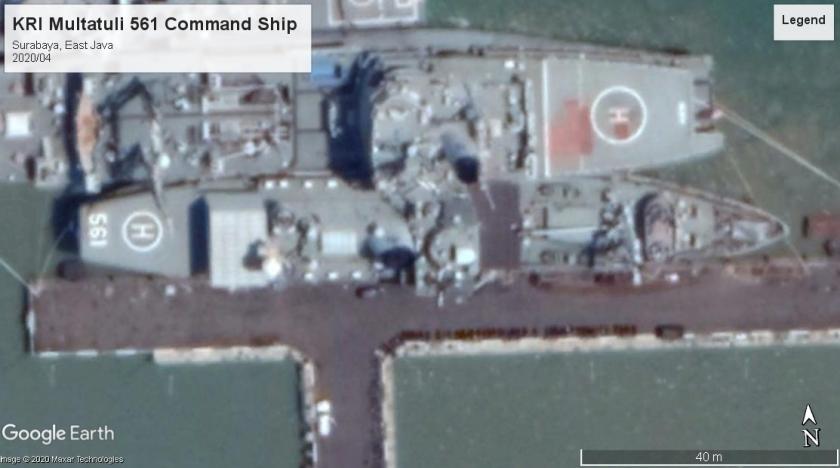 KRI Multatuli 561 Command Ship Surabaya 2020