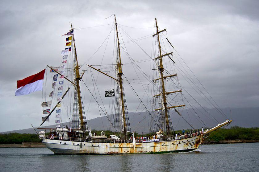 KRI tall ship