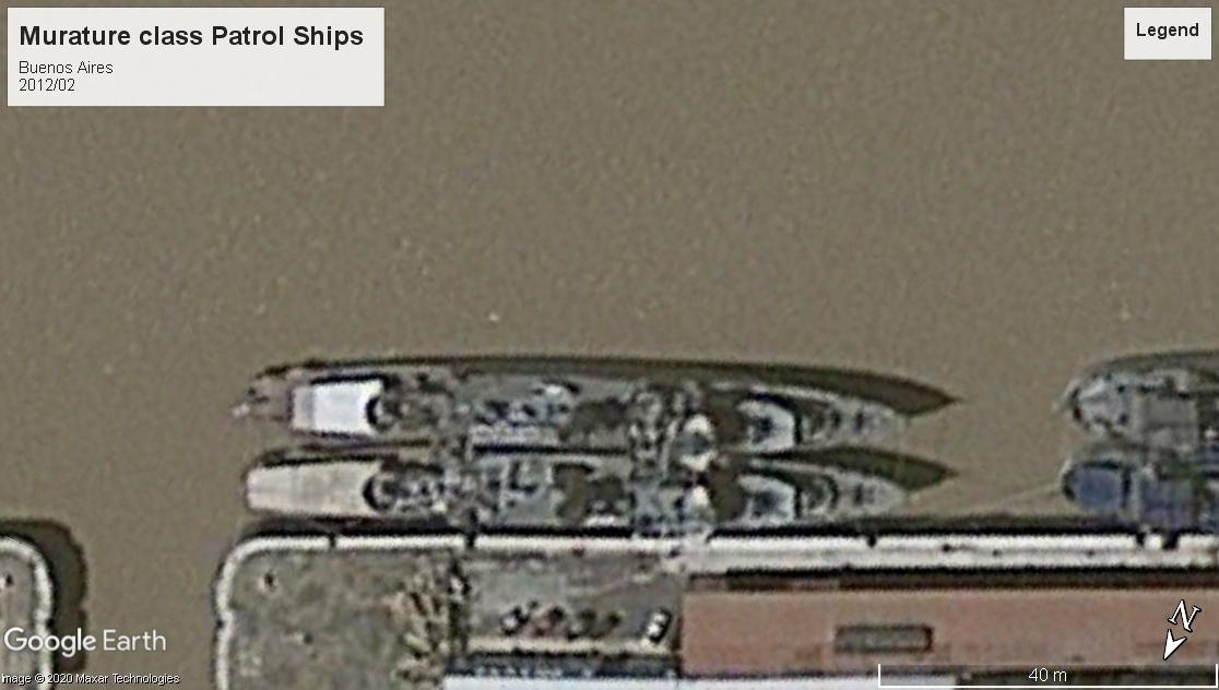 Murature class patrol ships Buensos Aires 2012