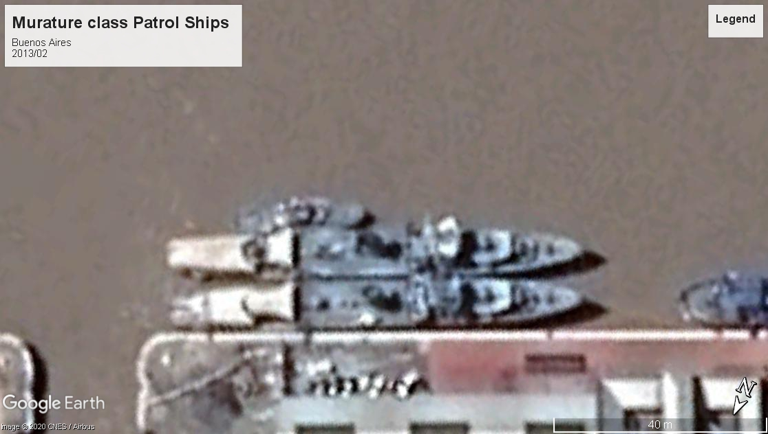 Murature class patrol ships Buensos Aires 2013