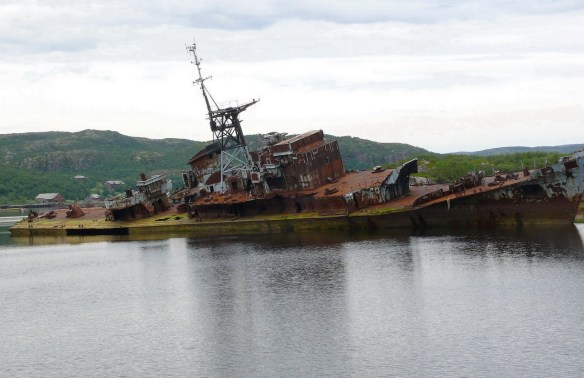 Riga wreck near severomorsk