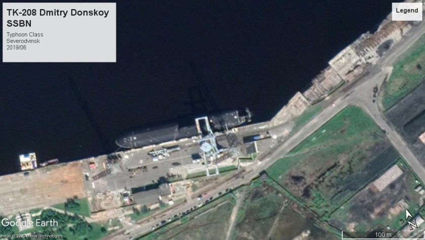 Typhoon TK208 Severodvinsk 2019