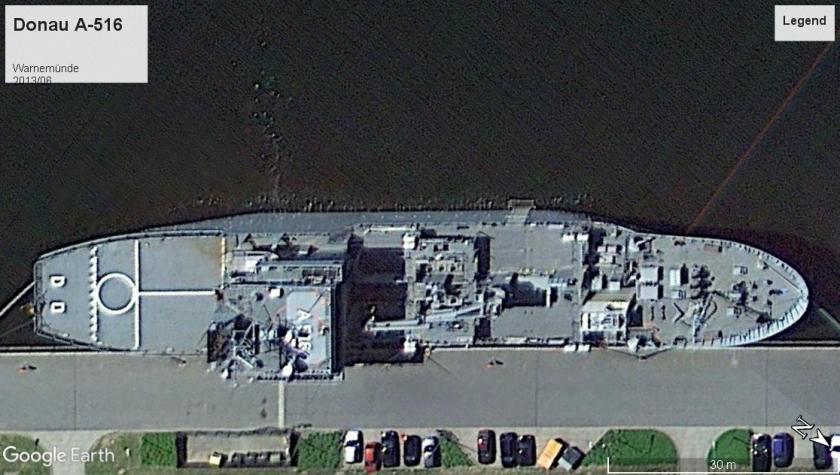 Donau A-516 Warnemunde 2013