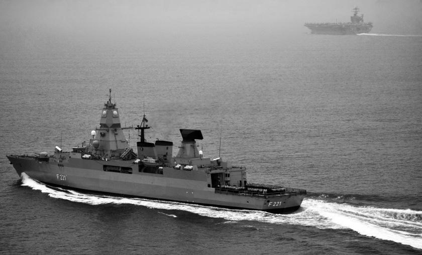 USS Harry S. Truman in France