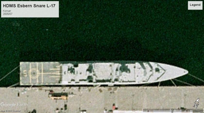 HDMS Esbern Snare L-17 Korsor 2005