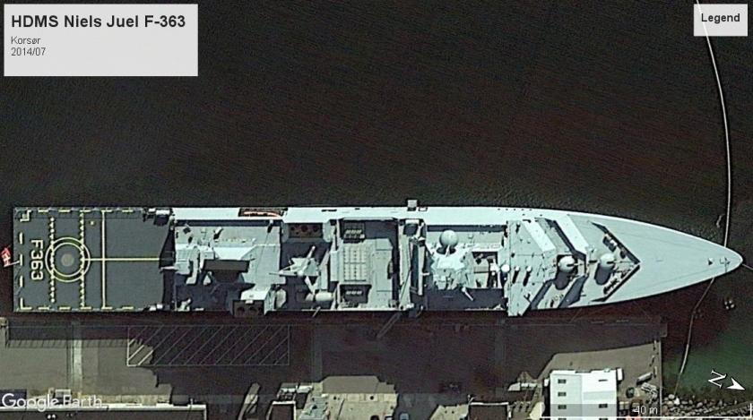 HDMS Niels Juel F-363 Korsor 2014
