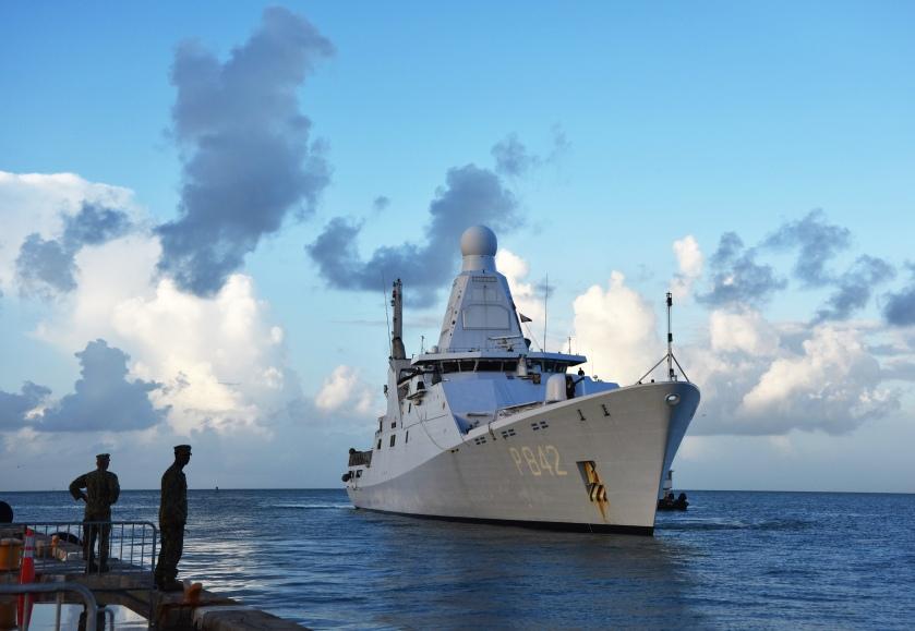 HNLMS Friesland arrives at NAS Key West