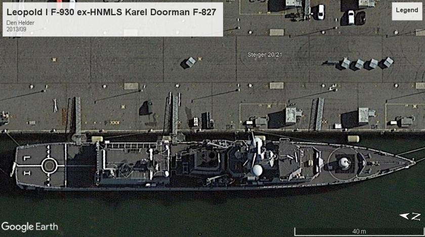 Leopold I ex-HNMLS Karel Doorman Den Helder 2013