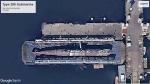 Type 206 sub Kiel 2016