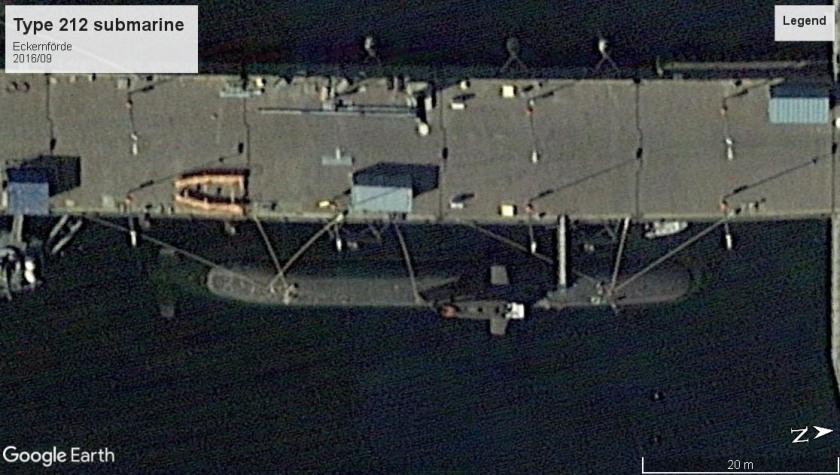 Type 212 submarine Eckernförde 2016
