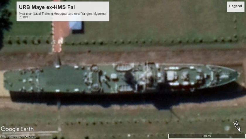 URB Mayu-HMS Fal Yangon 2019