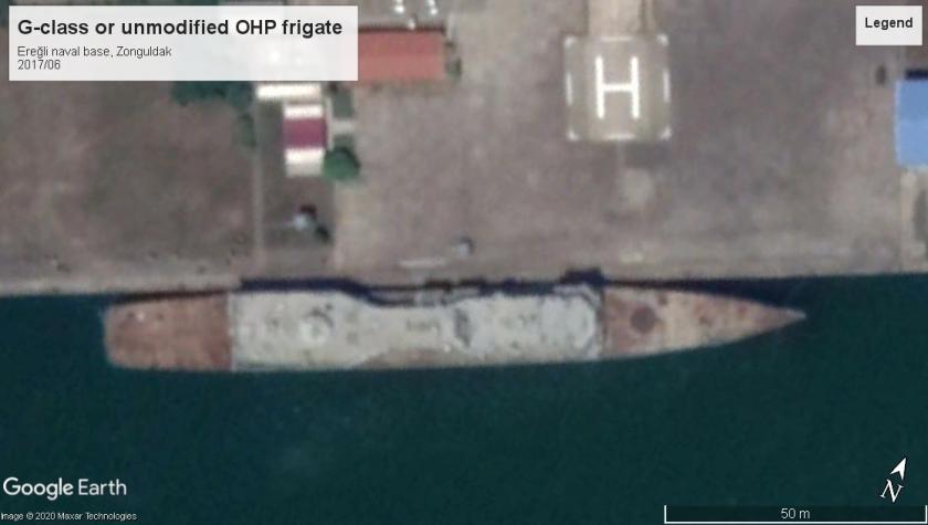 G class frigates (ex-USN OHP) Eregli 2017