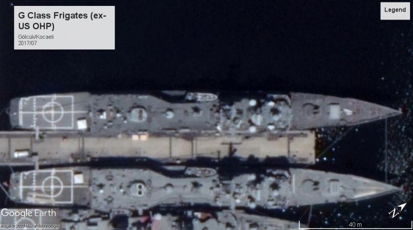 G class frigates (OHP) Gölcük Kocaeli 2017