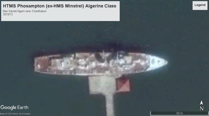 HTMS Phosampton Algerine class Ban Samet Ngam 2015