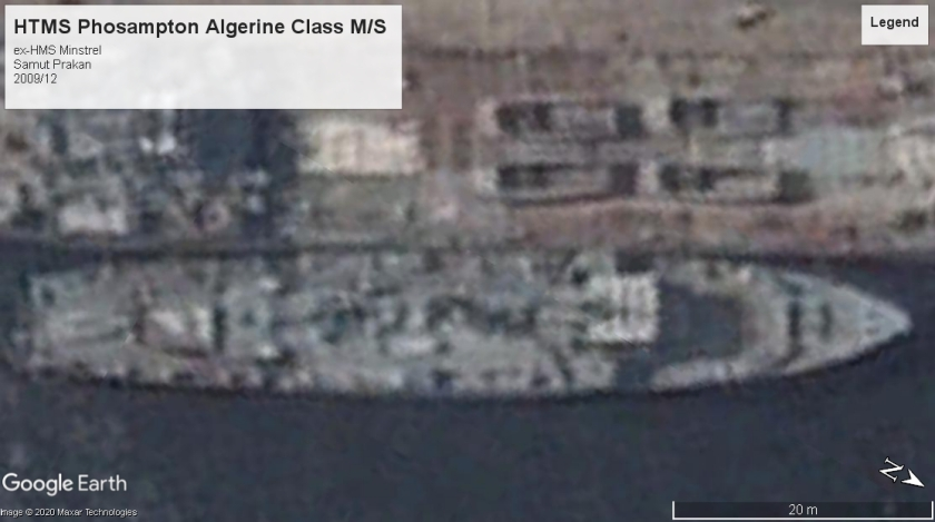 HTMS Phosampton Algerine class Samut Prakan 2009
