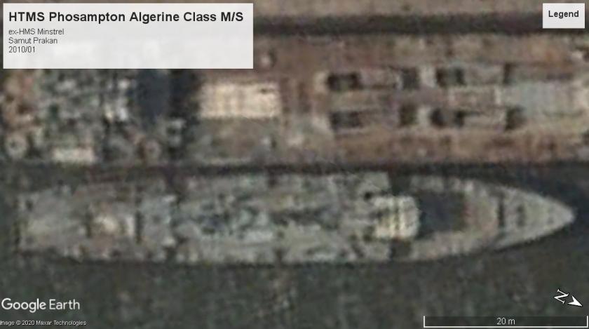 HTMS Phosampton Algerine class Samut Prakan 2010
