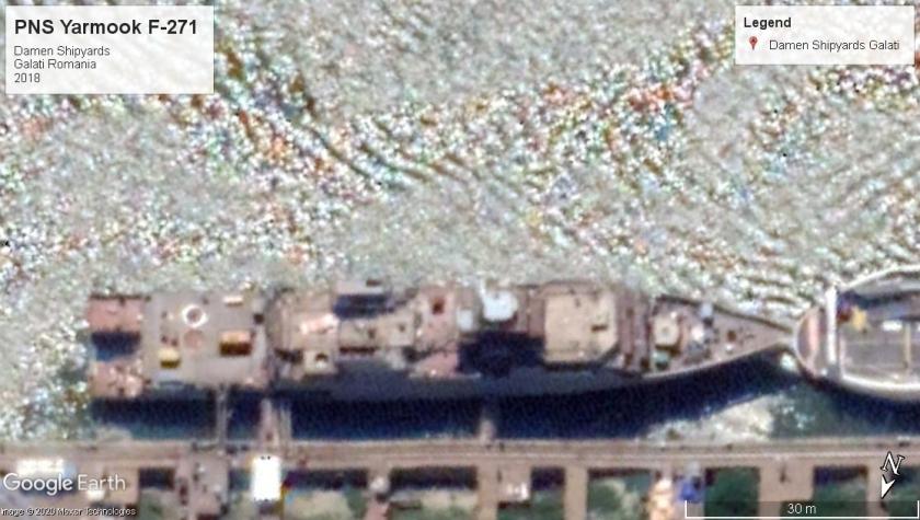 PNS Yarmook F-271 Galati Rom 2019