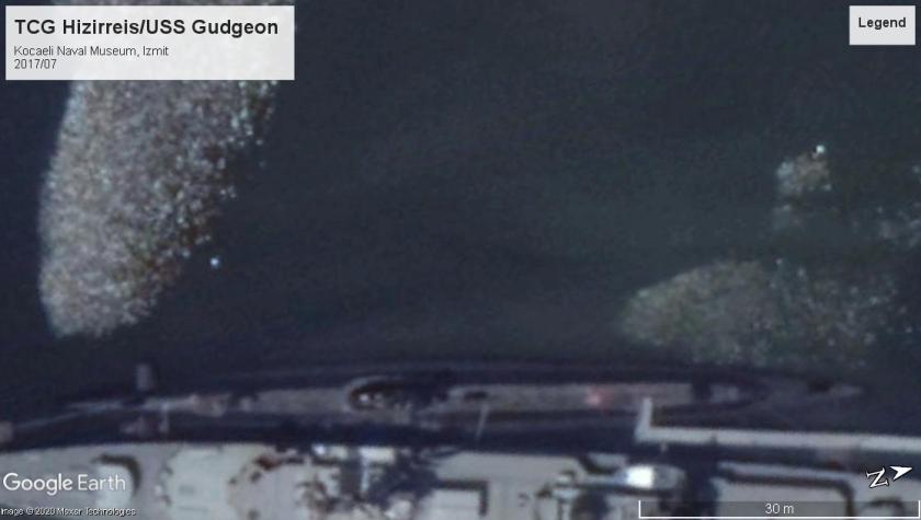 TCG Hizirreis-USS Gudgeon Izmit 2017