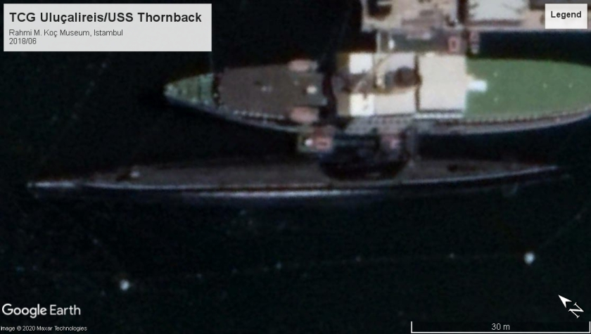 TCG Uluçalireis-USS Thornback Istambul 2018