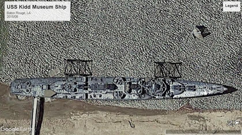USS Kidd museum ship Baton Rouge 2015