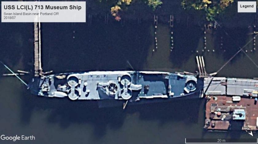 USS LCI(L) 713 Portland OR 2018