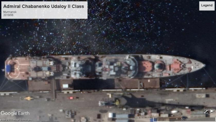 Admiral Chabanenko Udaloy 2019 Murmansk