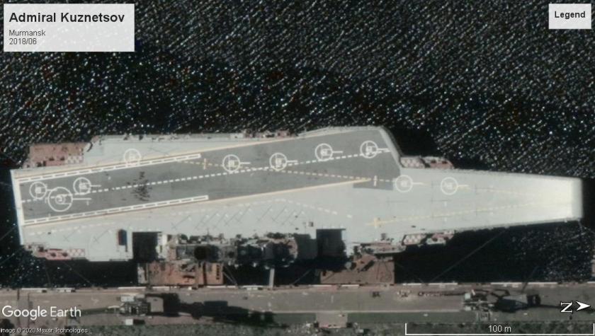 Admiral Kuznetsov carrier 2018 Murmansk