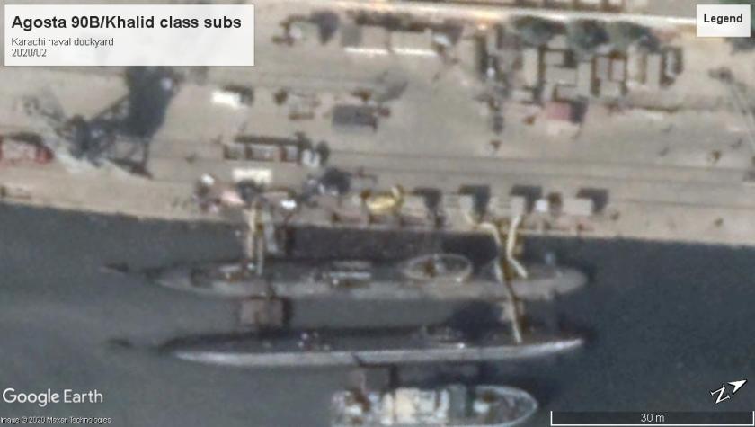 Agosta 90B-Khalid class Karachi 2020