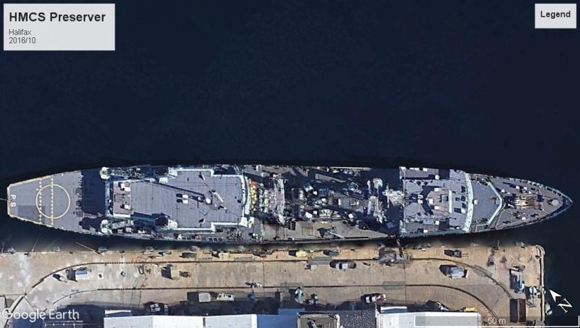 HMCS Preserver Halifax 2016