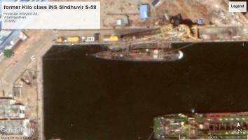 INS Sindhuvir S-58 Visakhapatnam 2019