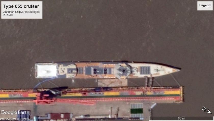 Type 055 buidling Shanghai 2020