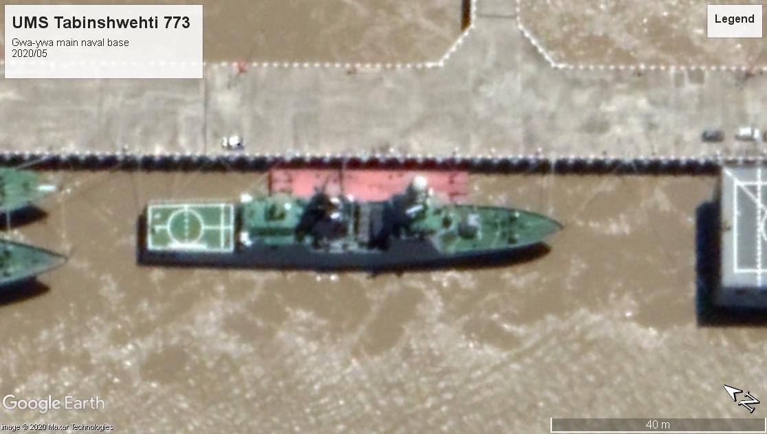 UMS Tabinshwehti 773 Gwa-ywa 2020