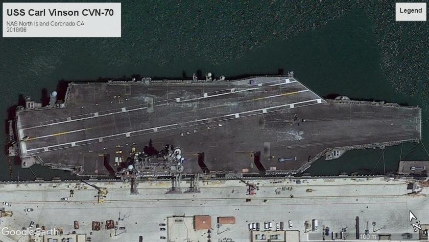 USS Carl Vinson CVN-70 Coronado 2018