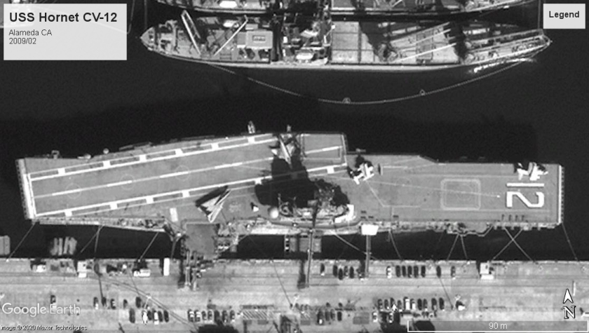 USS Hornet CV-12 Alameda 2009