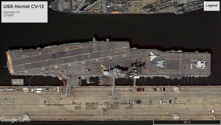 USS Hornet CV-12 Alameda 2018