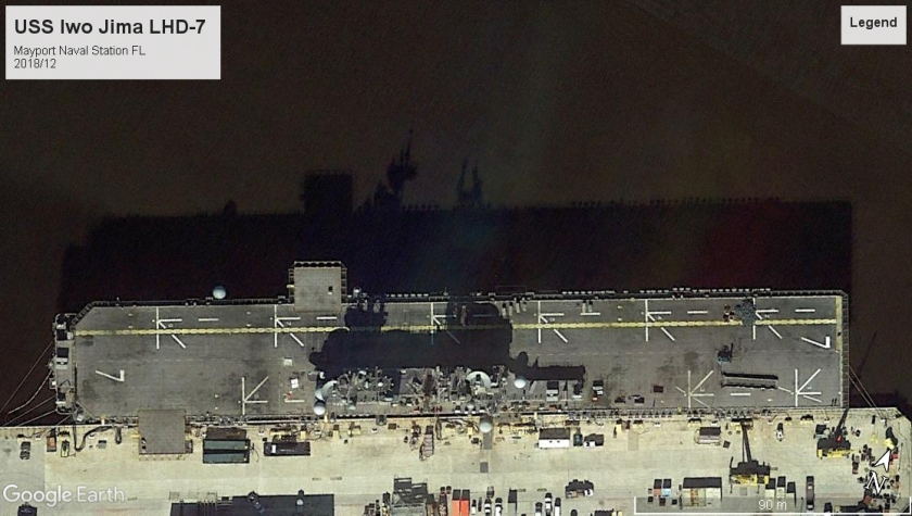 USS Iwo Jima LHD-7 Mayport FL 2018