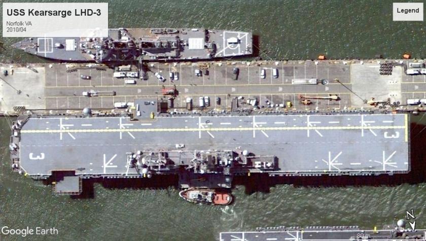 USS Kearsarge LHD-3 Norfolk 2010