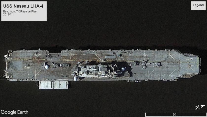 USS Nassau LHA-4 Beaumont TX 2019