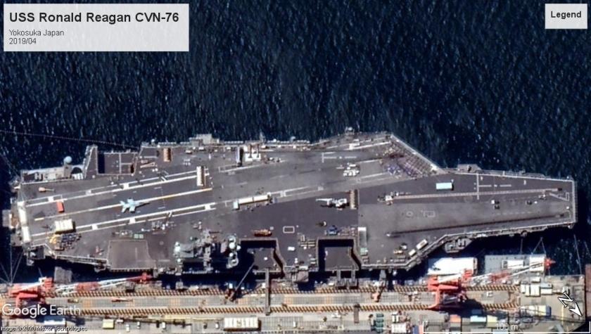 USS Ronald Reagan CVN-76 Yokosuka 2019