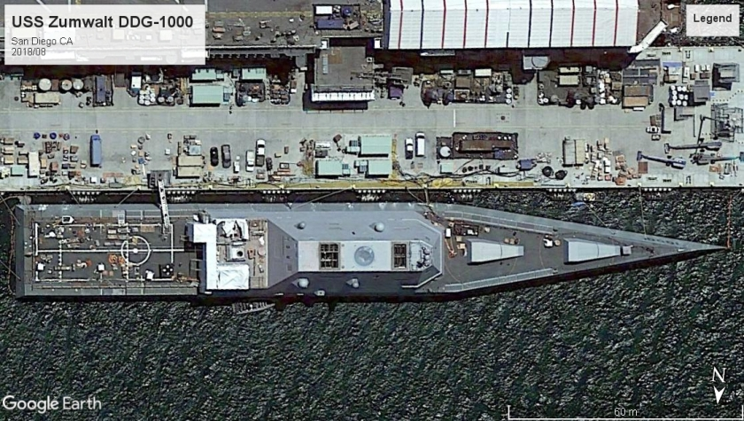 USS Zumwalt DDG-1000 San Diego 2018