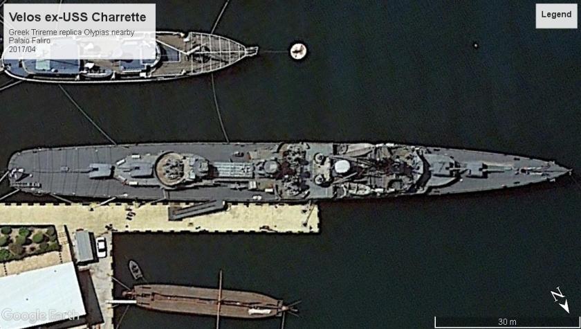 Velos ex-USS Charrette Palaio Faliro 2017