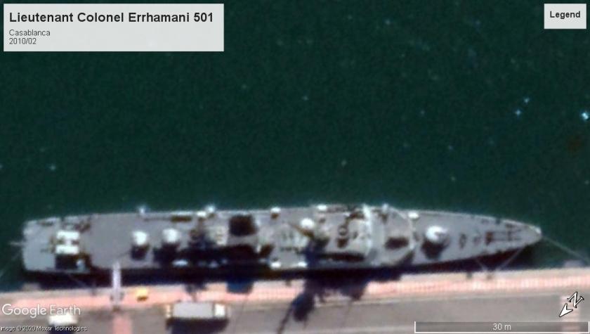 Lieutenant Colonel Errhamani 501 Casablanca 2020