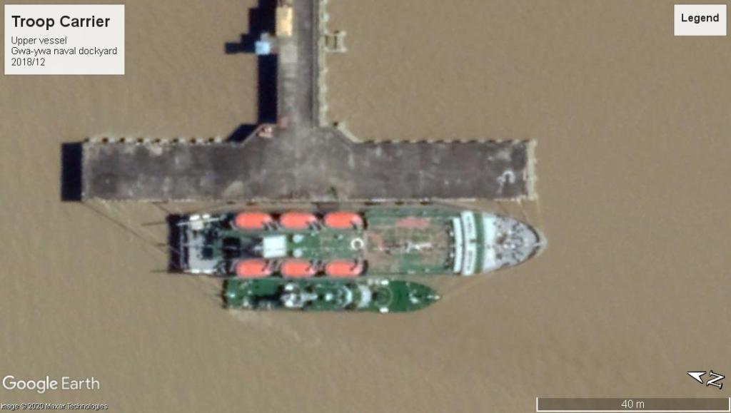 This image has an empty alt attribute; its file name is myanmar-navy-troop-carrier-gwa-ywa-2018.jpg