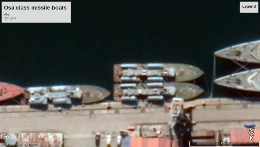 Osa class missile boats Atia 2019