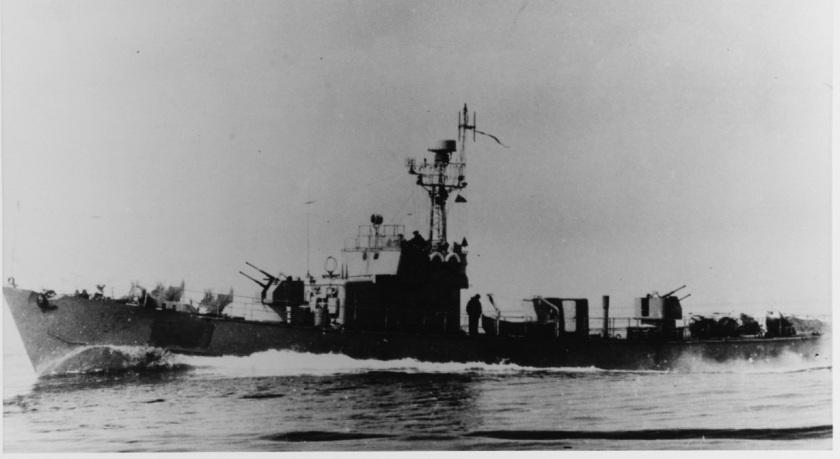 SO-1 Soviet patrol boat NHHC USN 711530