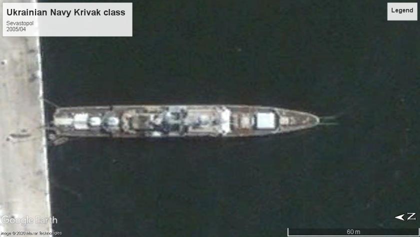 Ukrainian Krivak class Sevastopol 2005