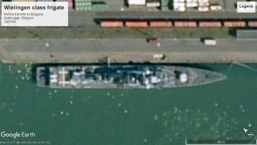 Wielingen class zeebrugge 2007