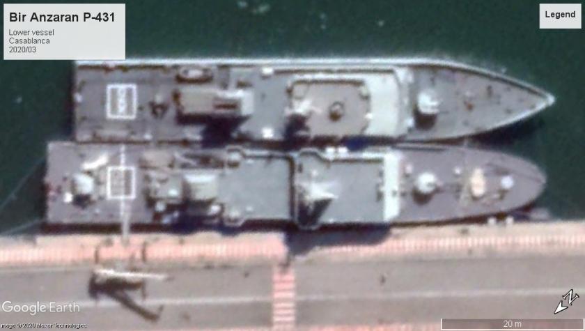 Bir Anzaran OPV-70 class Casablanca 2020