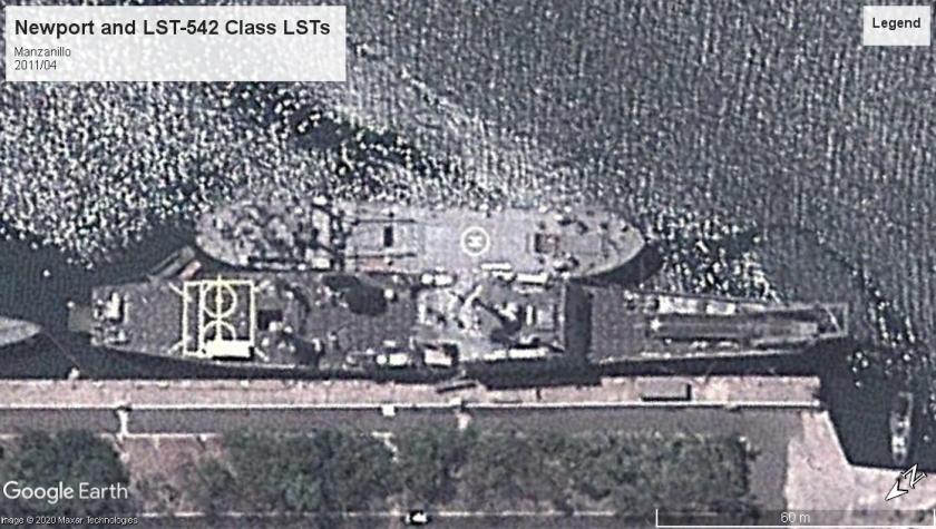 Newport and 542 LSTs Manzanillo 2011